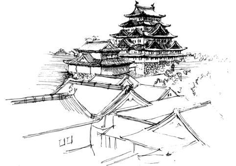 名古屋城堡(城堡塔)