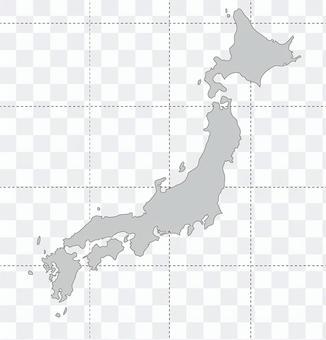 日本空白地圖研究論文地圖