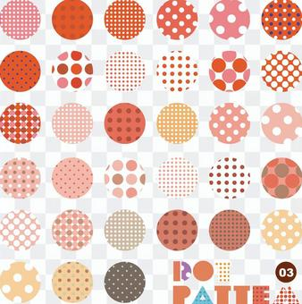 Pattern collection dot 03