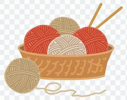 針織羊毛球