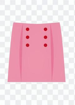 裙(粉色)