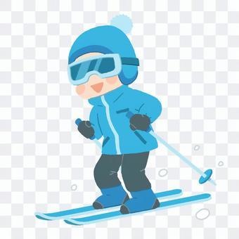 滑雪_男人