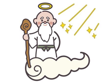God in the light