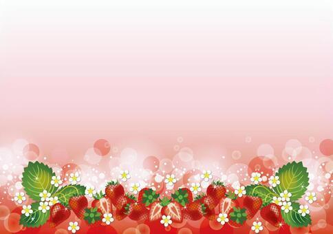 苺 Background From below