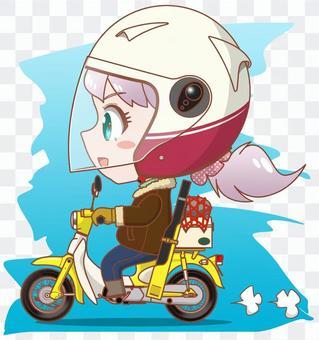我們去騎摩托車釣魚吧! !!