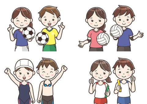 Club activity illustration 10