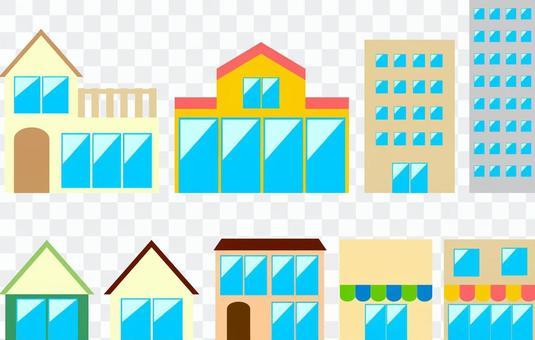 简单的建筑集
