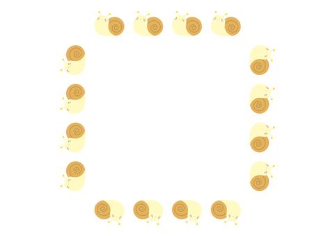 5 frames_snail,無線,方形
