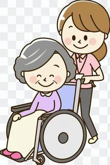 Polo衫女2-13輪椅高級女