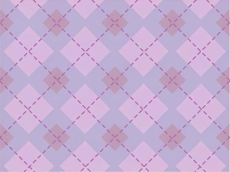 虛線檢查 - 紫色