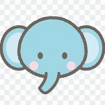 可愛的動物大象