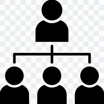 組織結構圖圖標