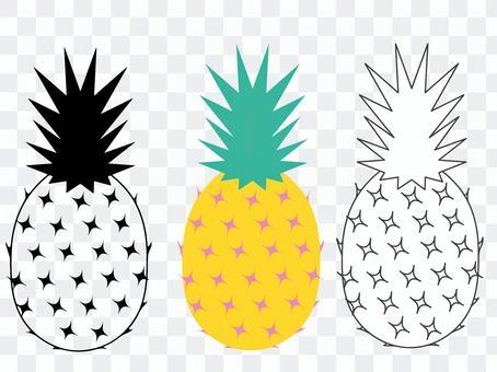 Pineapple (set)