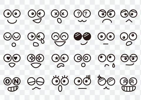 眼睛的分類表達