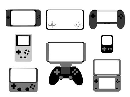 Smartphone game Handheld game console Frame set 1