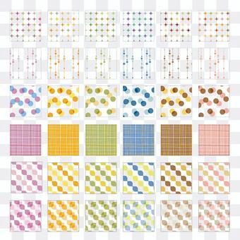 Various patterns Pattern 3 Autumn
