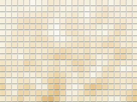 背景馬賽克瓷磚米色1