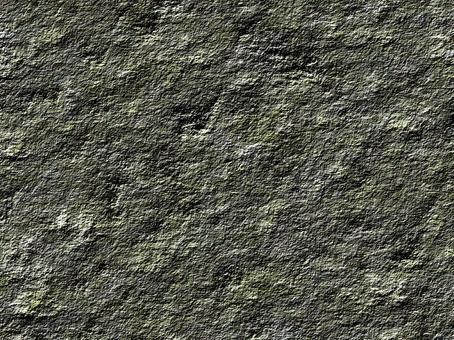 苔蘚的綠色岩石表面紋理4:3