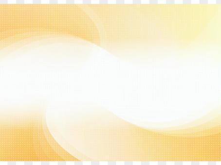 橙色波浪商務背景素材