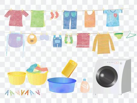 洗衣店·洗衣用品