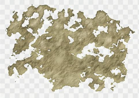 角色扮演遊戲風格的古董地圖