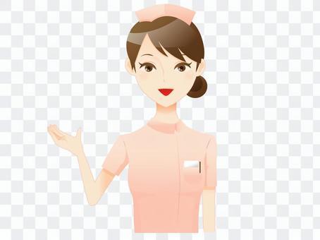 一位護士的女人