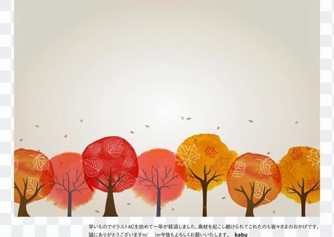 秋季可能使用的背景材料53