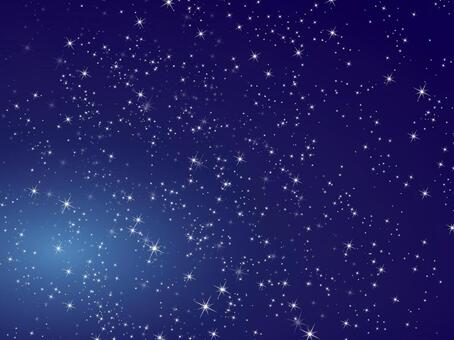 Background glittering stars