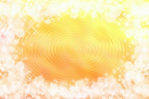 波光粼粼的波浪/黃色