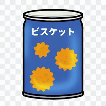 缶入りのビスケット