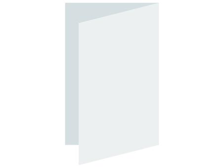 折疊的白紙