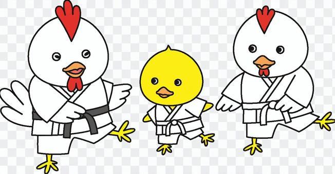 小鸡·空手道2