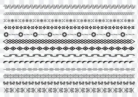 22行裝飾規則集5單色