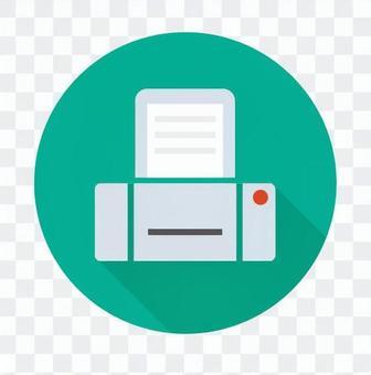 平板圖標 - 打印機