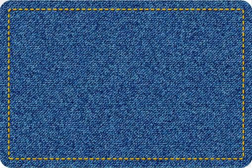 デニム風長方形型図形