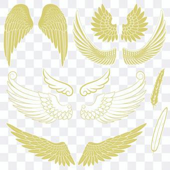 翼のフレームセット