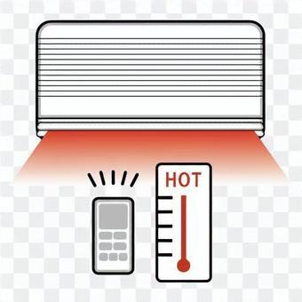 空調和溫度計