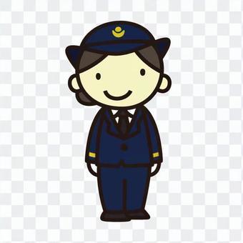 A station attendant