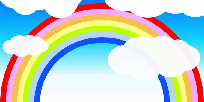 彩虹和雲01