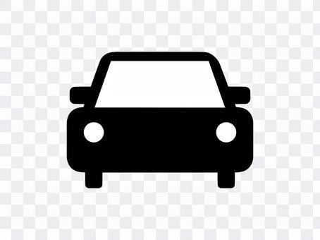 汽车车辆剪影黑色