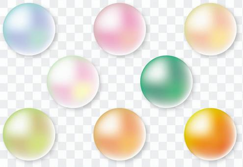 肥皂泡珍珠