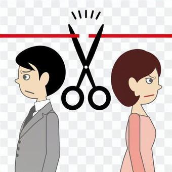 離婚,離婚和割禮的形象