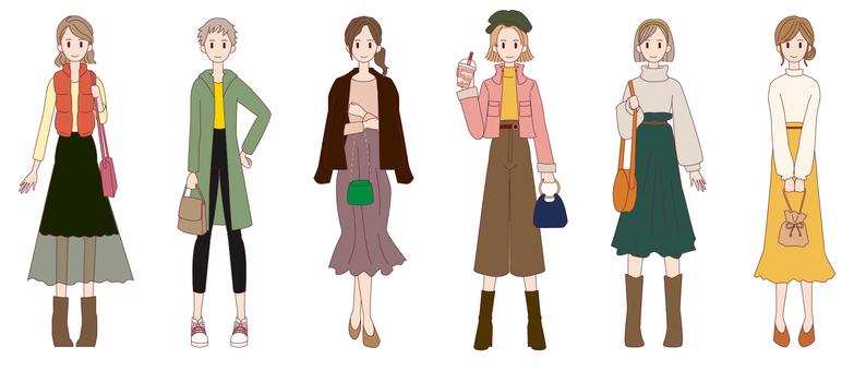 Autumn fashion coordination