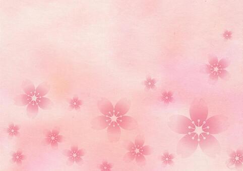 櫻花_粉紅色的日本紙