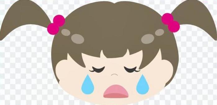 女孩(悲傷)