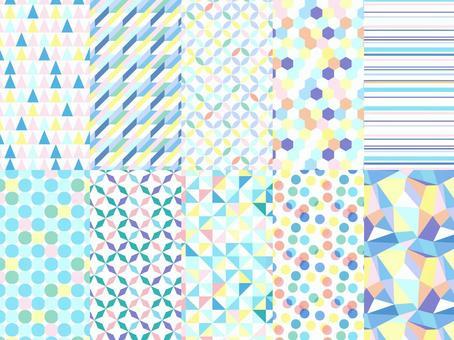 幾何圖案集/多彩