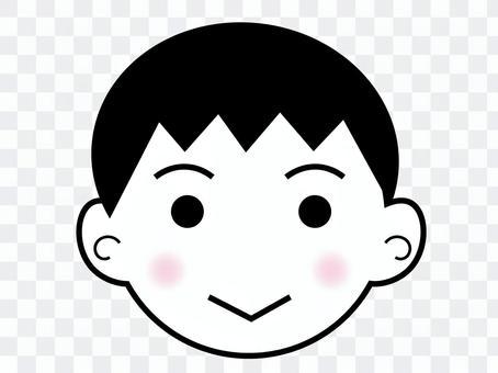 男孩的臉1