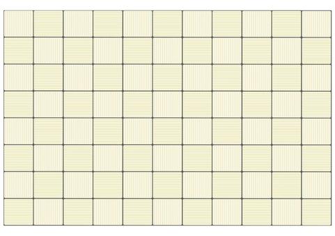 Uneven tile wallpaper (ivory)