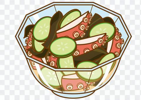 Octopus and cucumber vinegar-4c