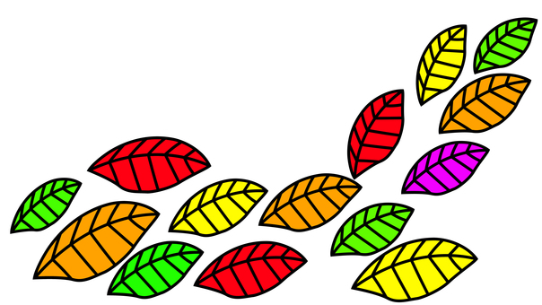 Colored leaves 2